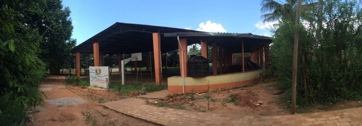 Nuevo pabellón en el centro Laura Vicunha